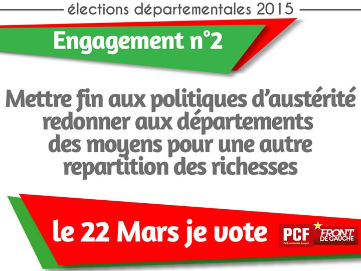 Elections départementales : le PCF s'engage !