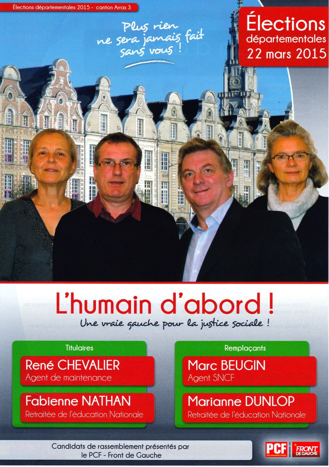Election: l'Humain d'Abord  Arras 3