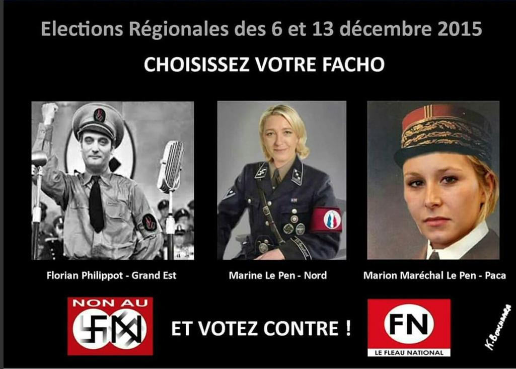 Régionales: Mille raisons pour ne pas voter Le Pen le 13 décembre