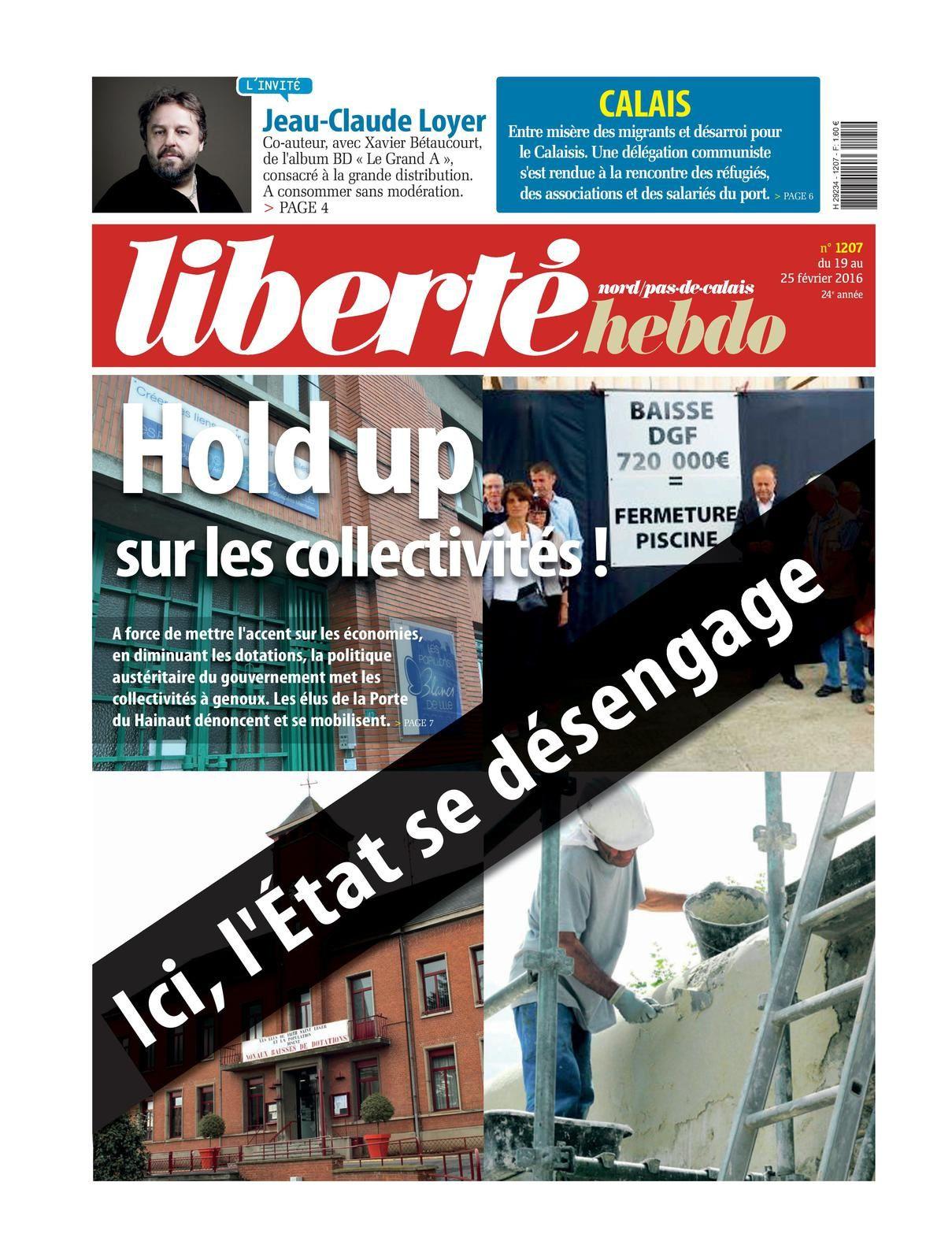 Liberté Hebdo 1207 : L'édito de Franck