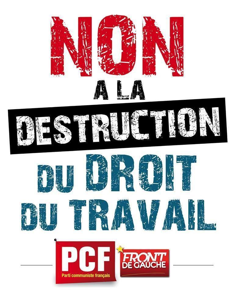 Non à la destruction du droit du travail !
