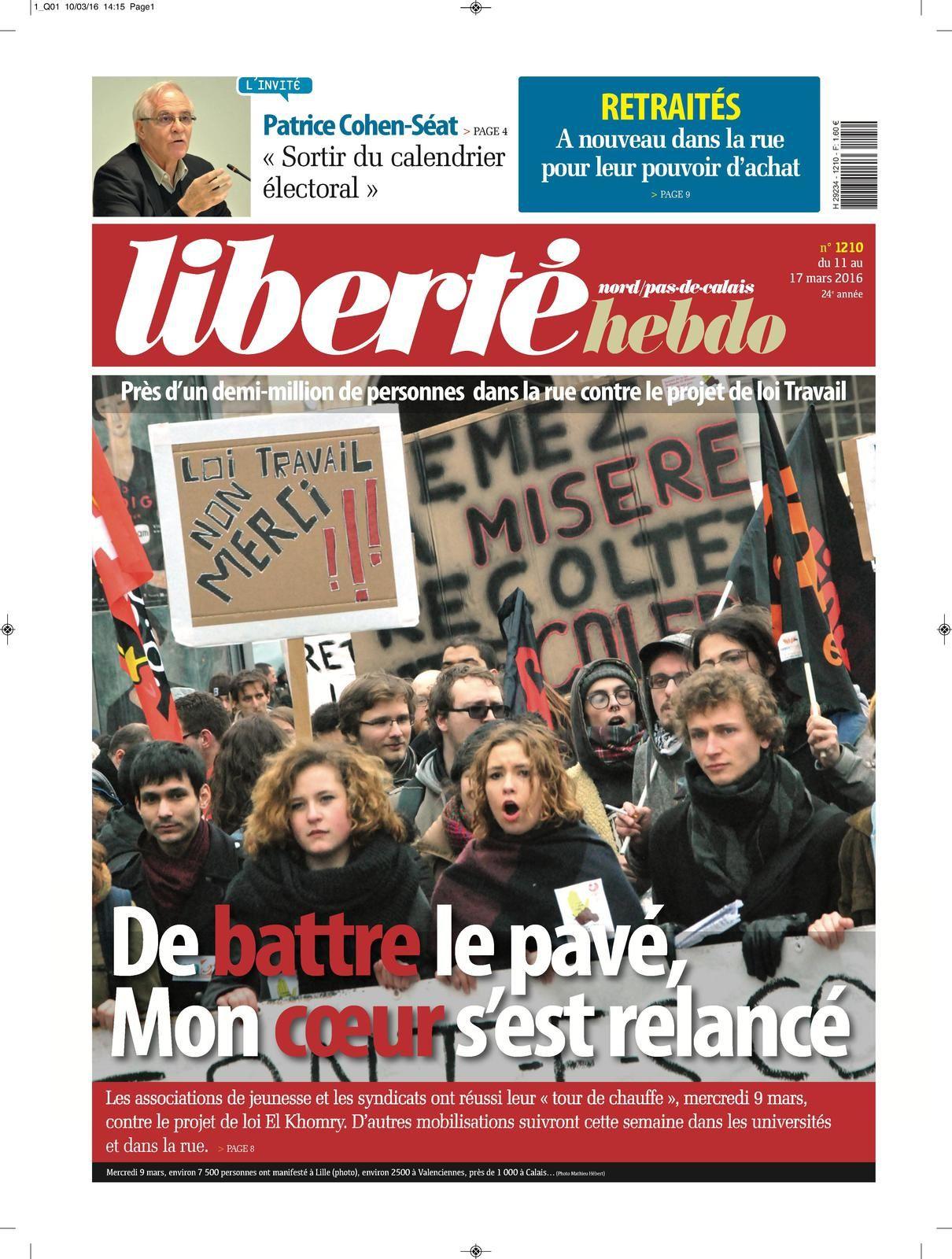 Liberté Hebdo 1210 : L'édito de Franck
