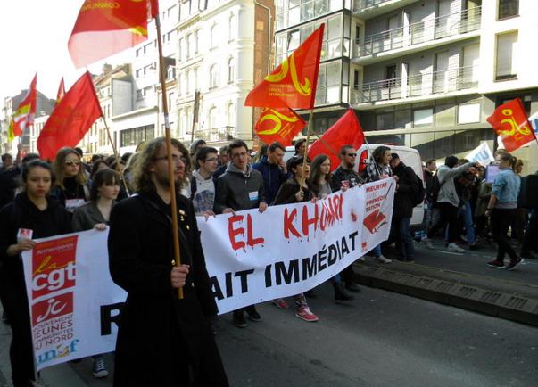Lille : Journée d'action du 17 mars