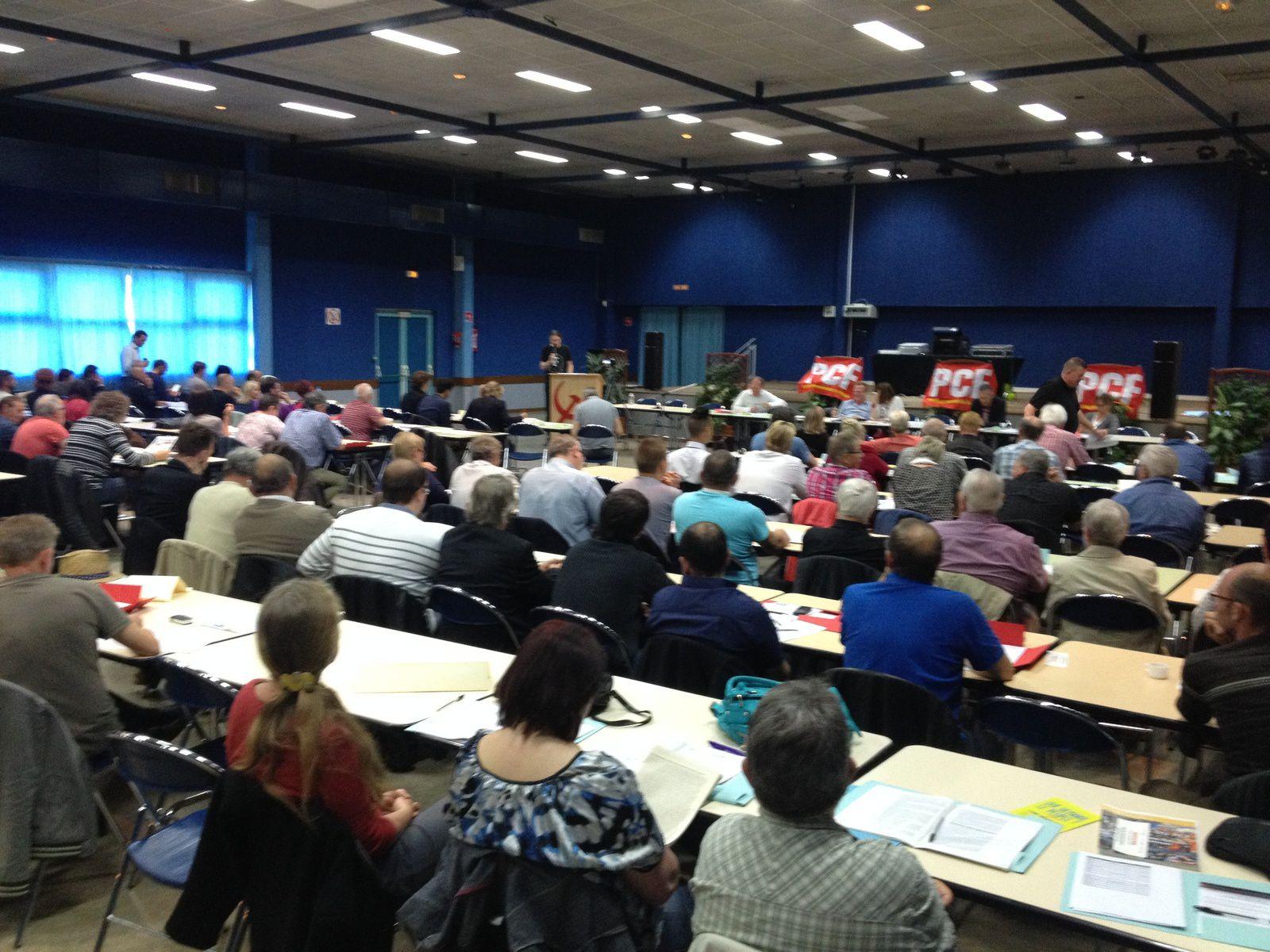 Une conférence départementale du PCF du 62 sereine dans l'unisson à Sallaumines