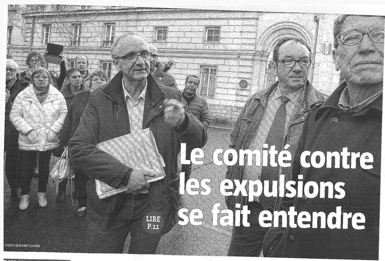expulsions locatives les élus communistes à la pointe du combat
