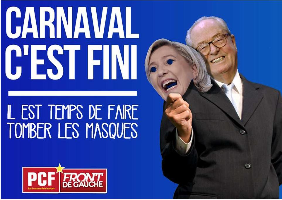 FN : Carnaval, c'est fini !