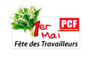 Arras : 1er mai Fête des travailleurs, fête de la culture avec un petit brin de muguet, celui de l'espoir