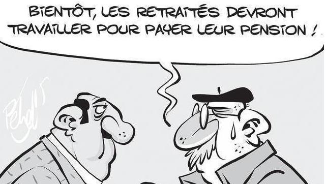 Les retraités Français faut les saigner