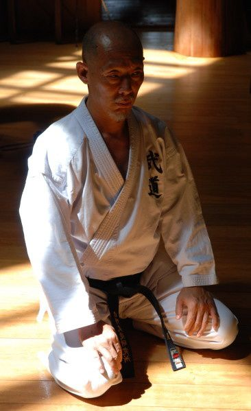 Hino sensei. Photo de Jean-Baptiste Rosello.