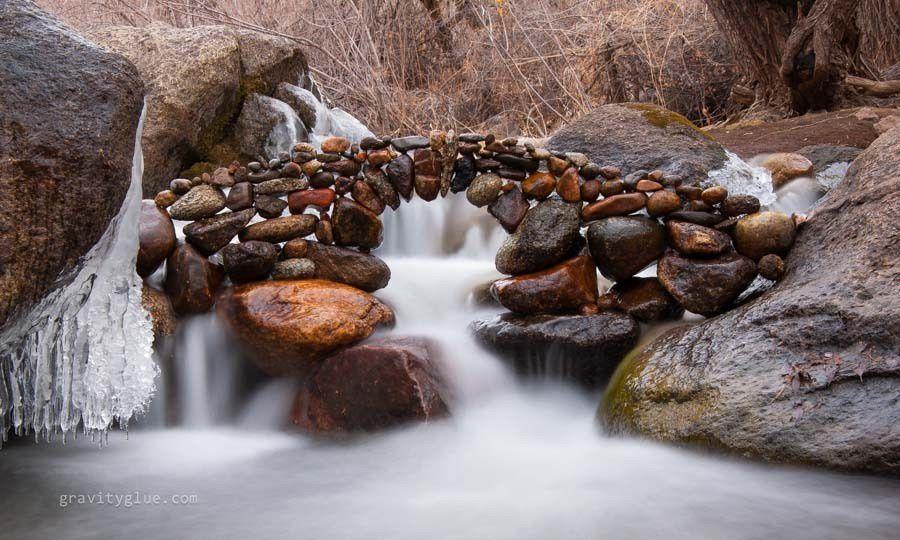 Passer des années à perfectionner son art: balancing rock.