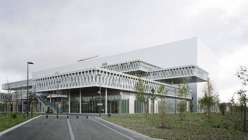Archives Nationales de France, site de Pierrefitte-sur-Seine. Architecte : Massimiliano Fuksas.