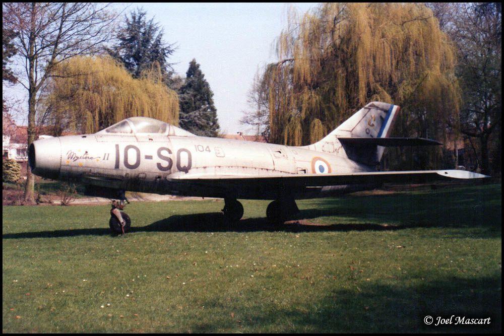 Dassault MD-452 Mystère IIC n°104 - CAEA Bordeaux (33) -