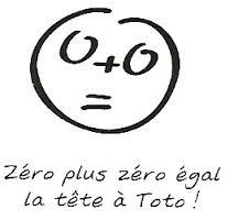 Zéro plus zéro égal