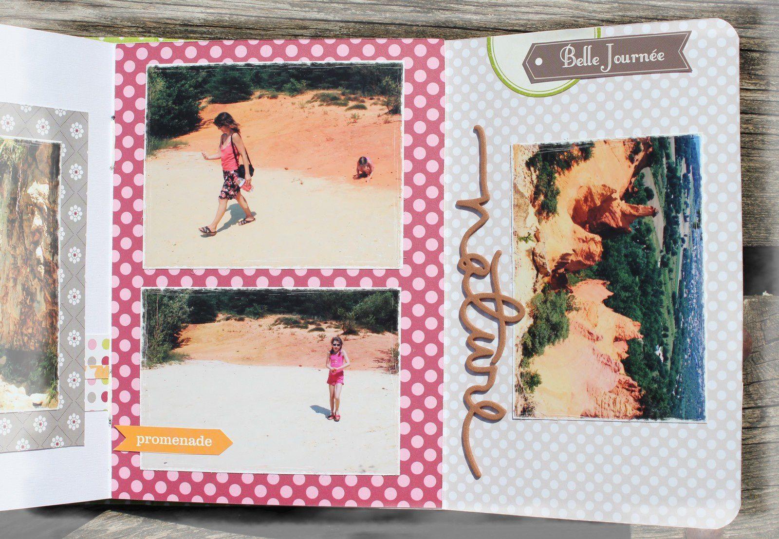 mini album sur les carrières d'ocre de Roussillon