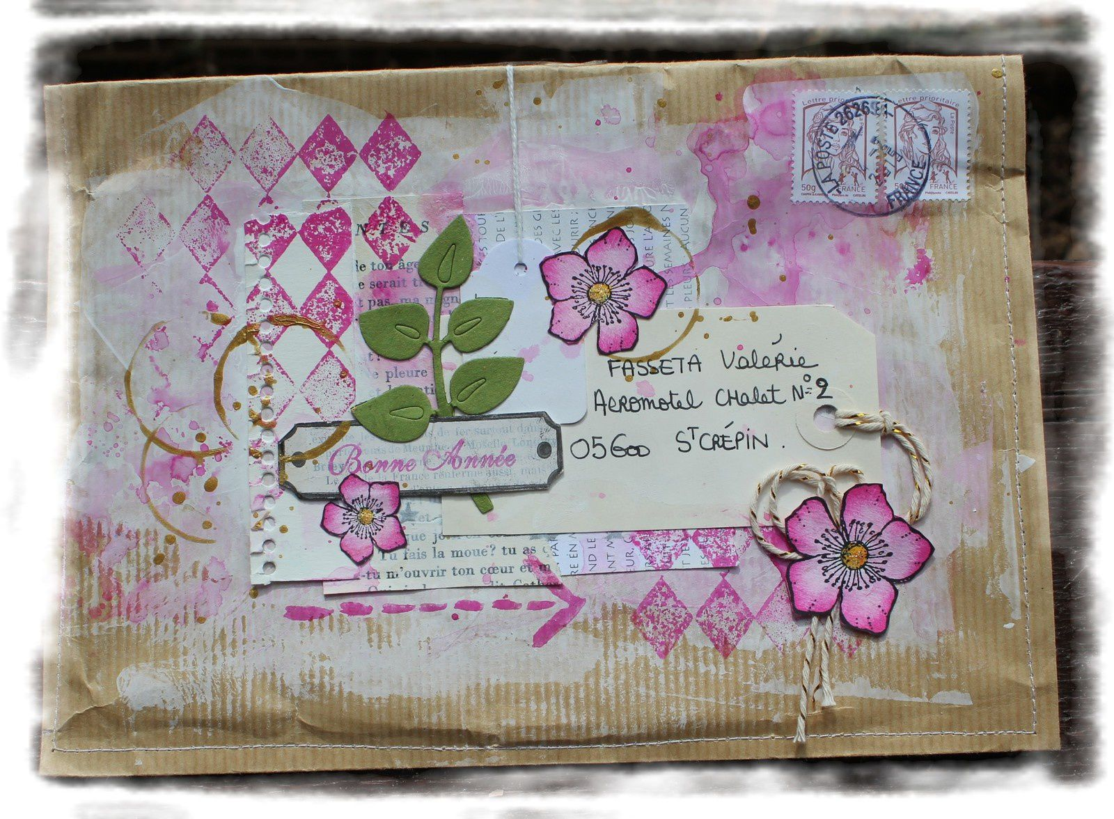 page shabby - vintage