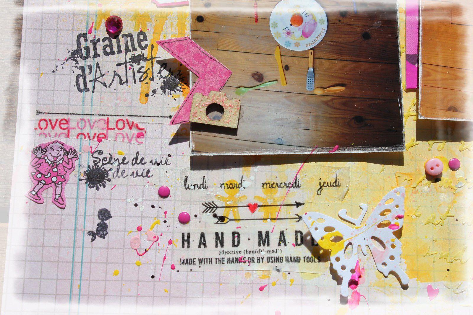 Blog Hop ! chez Scrap Kits and Co