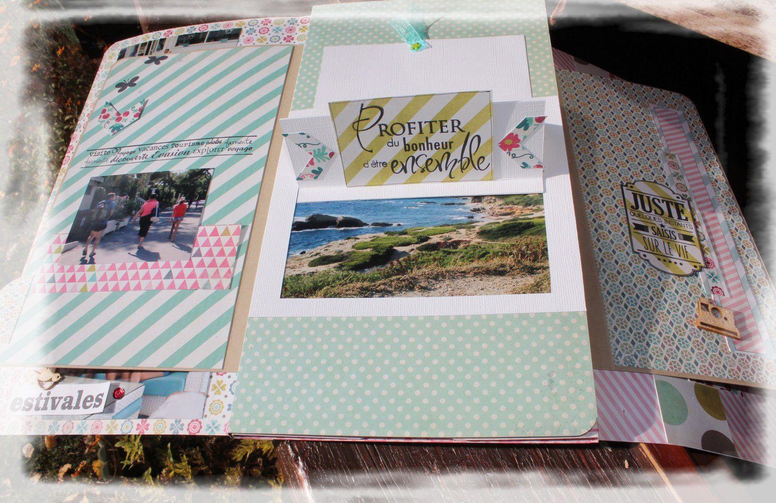 Mini album &quot&#x3B;petites histoires de famille&quot&#x3B;