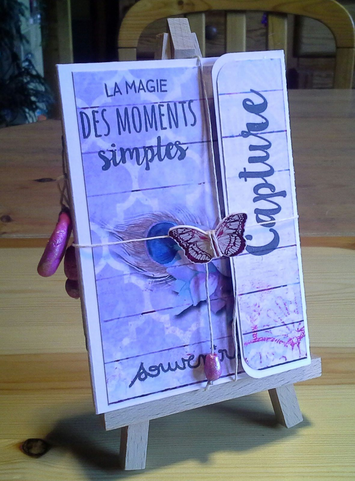 Mini carnet Scrap Plaisir