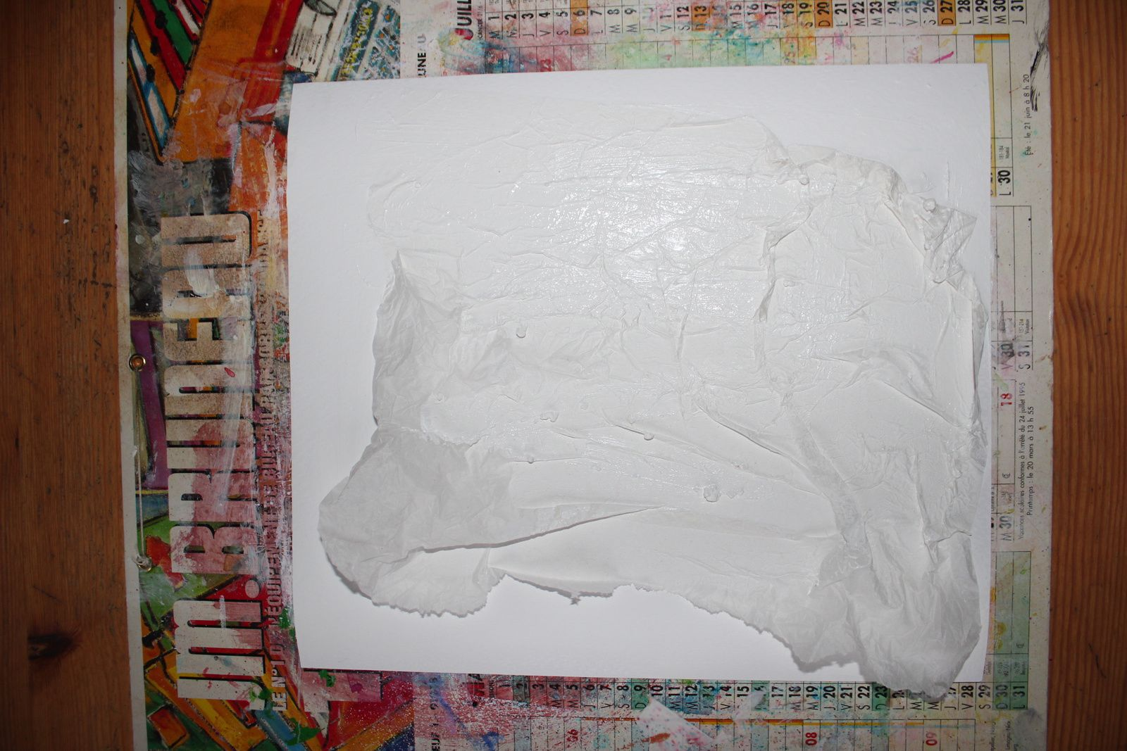 tuto en images pour réaliser une toile canvas