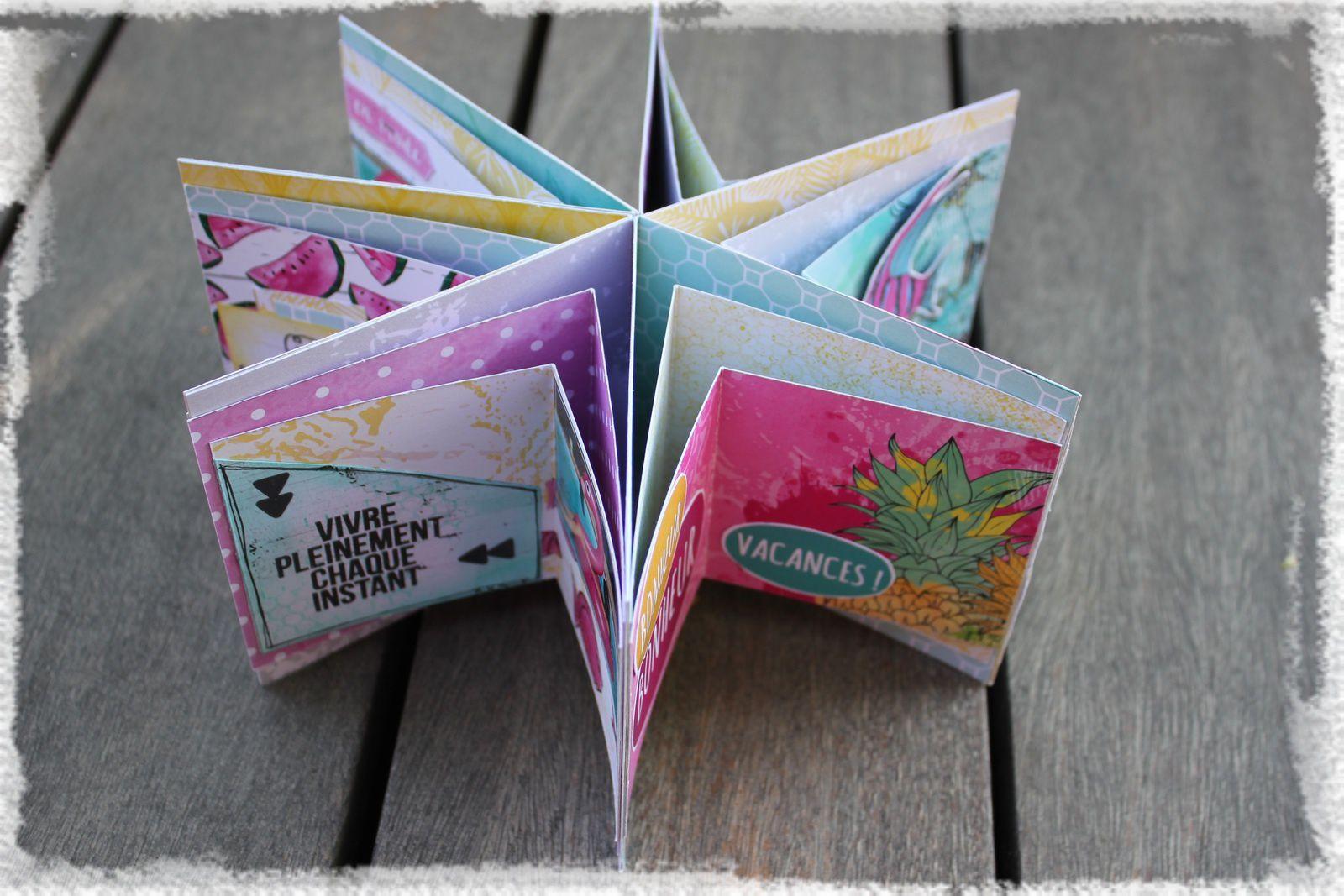 page Liberté et mini album étoile