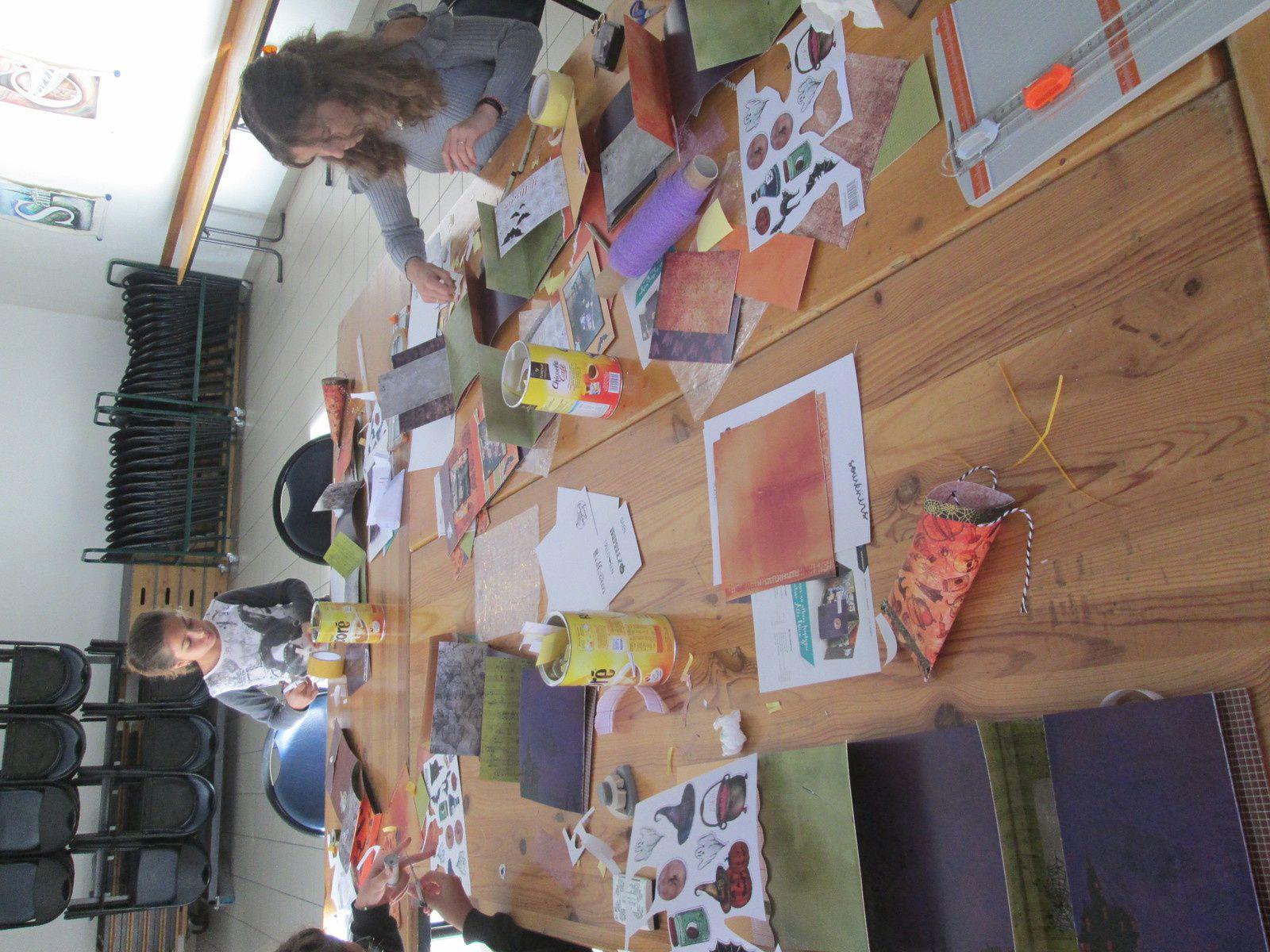 atelier spécial Halloween avec Fait Main 05, c'était tout à l'heure &#x3B;)