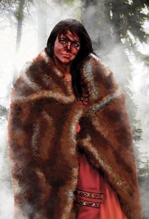Ramna, marchande same débrouillarde, naturelle, spontanée, épouse d'Harald Sveinson. (Pnj)