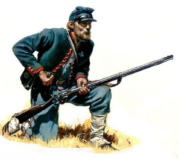 Caporal de cavalerie de l'armée, en permission à durée indérterminée...