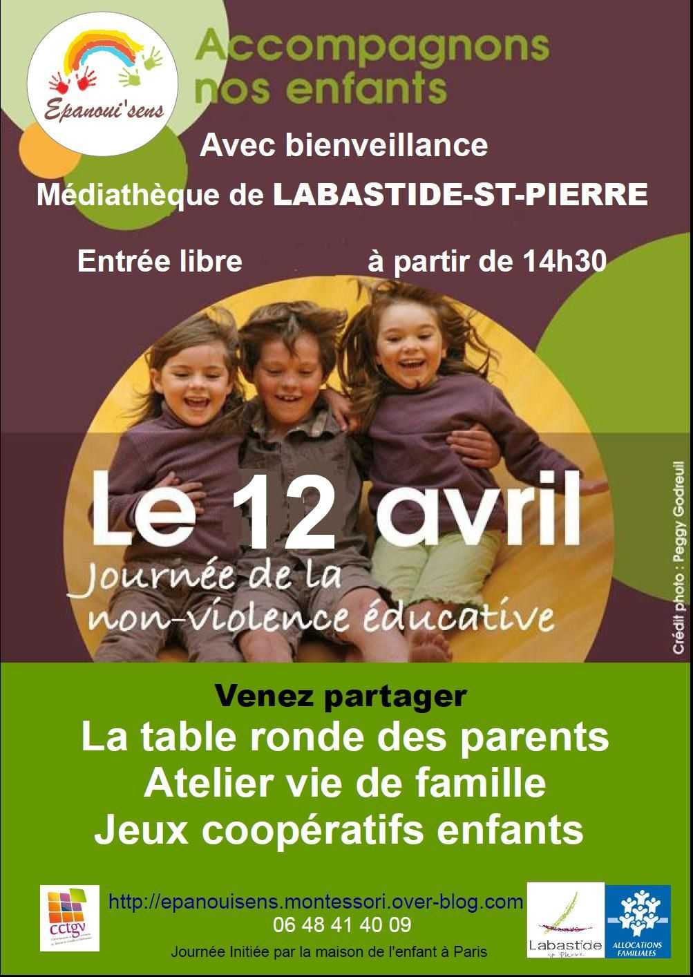 JOURNEE DE LA NON VIOLENCE EDUCATIVE