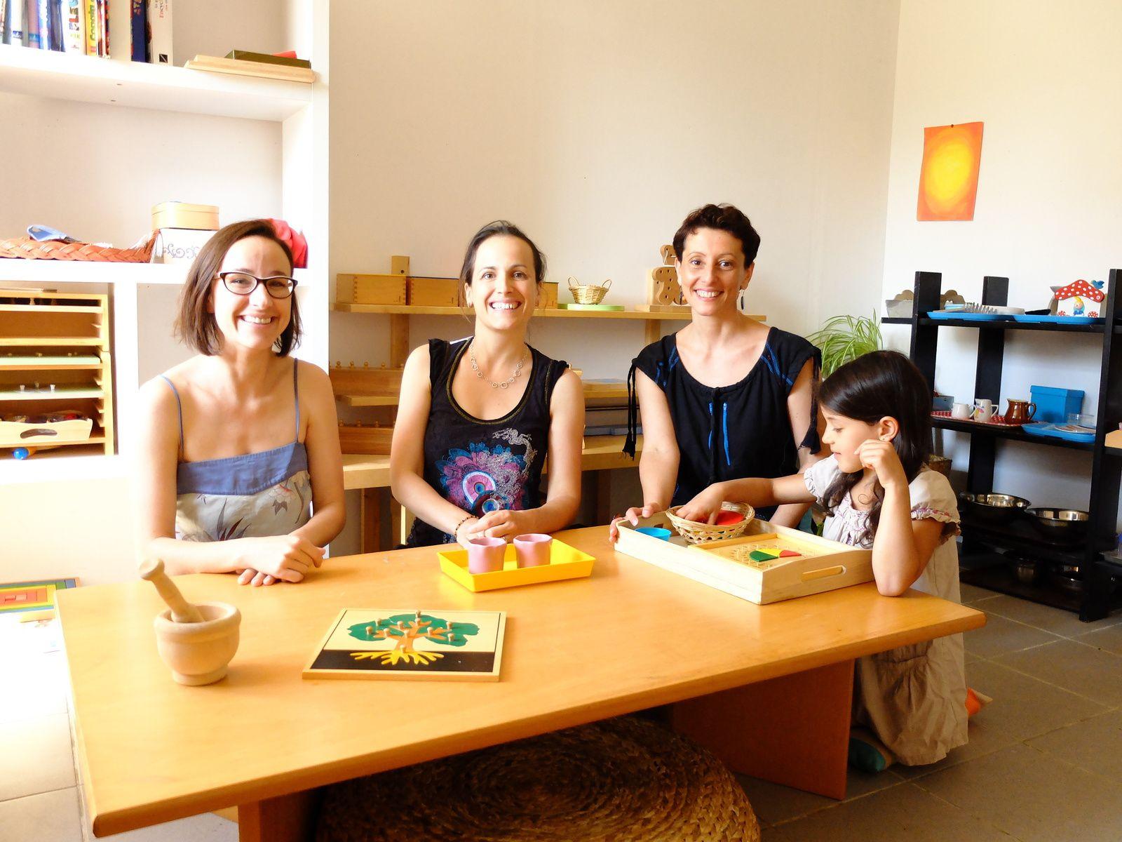 Ecole Montessori à Moissac : La visite