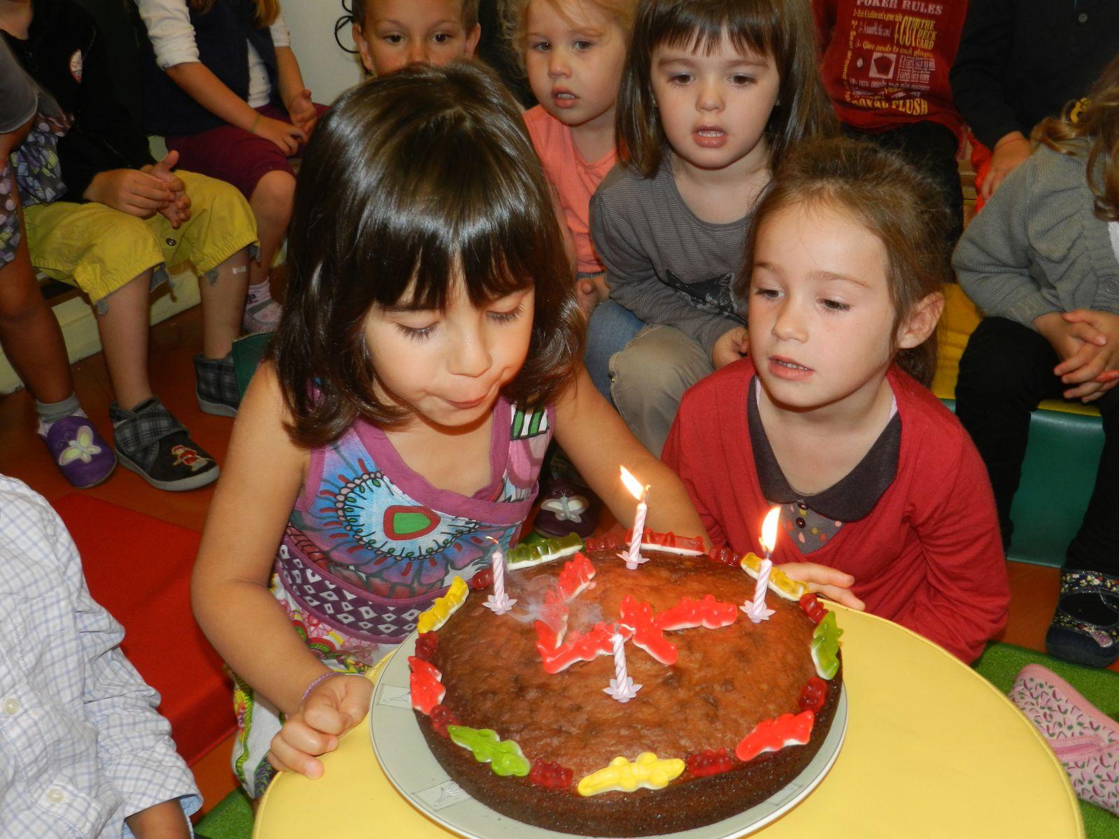 L'anniversaire de Mareva!