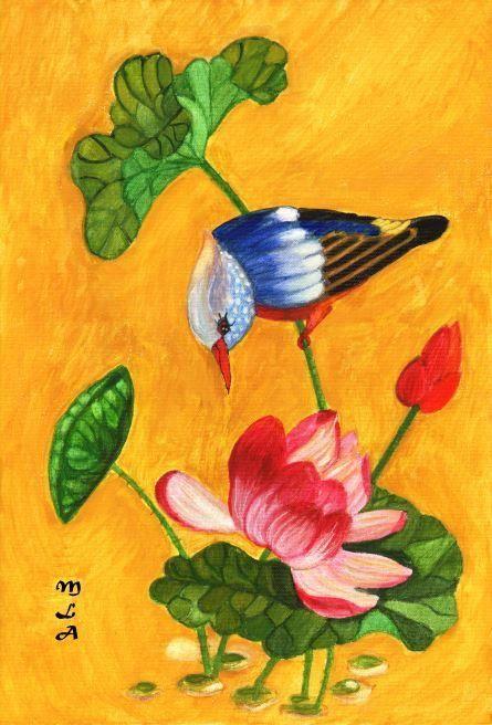 P'tit oiseau de toutes les couleurs
