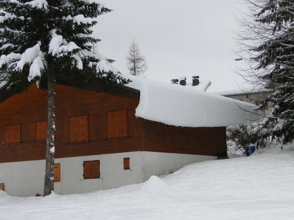 Dès le lendemain, il y avait 50 cm de neige supplémentaire....et depuis encore beaucoup plus !
