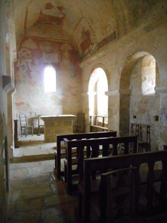 La chapelle Saint-Christophe à Monferrand du Périgord