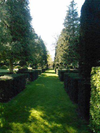 Le bassin du jardin blanc