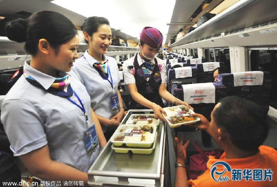 Les hôtesses en Chine (Lire l'article jusqu'au bout...surprise !!)