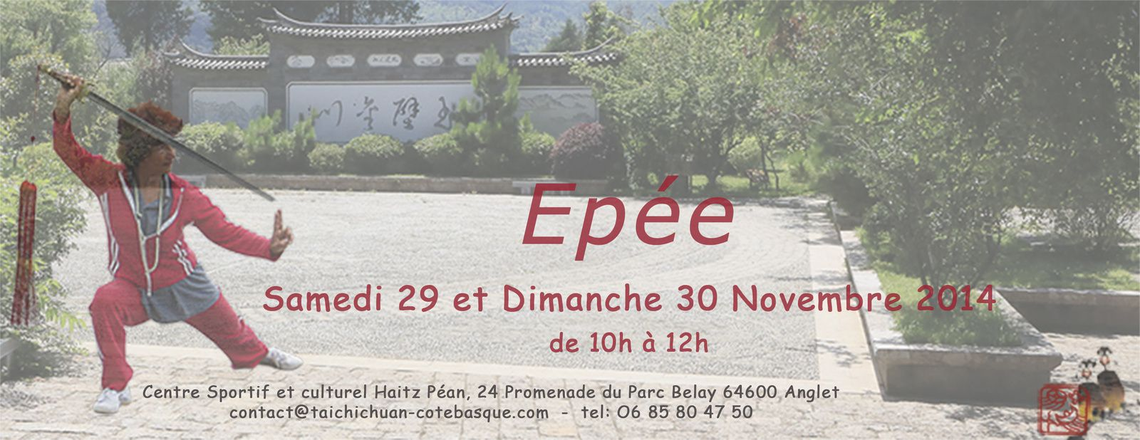 atelier ep e samedi 29 et dimanche 30 novembre 2014 taichichuan c te basque. Black Bedroom Furniture Sets. Home Design Ideas