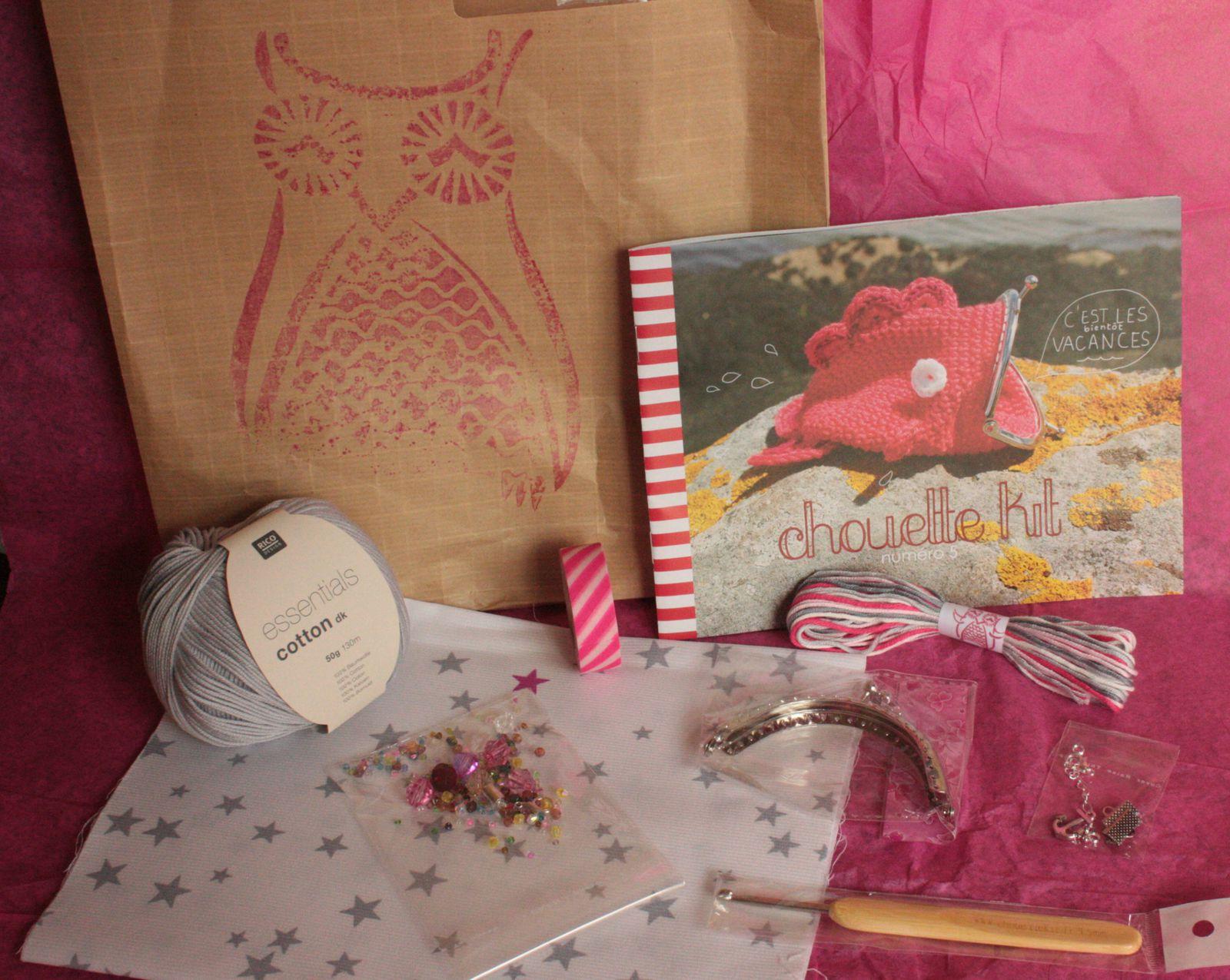 Mon Chouette kit, le n°5, couleur  Biarritz!!!