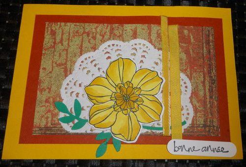 carte de Marinette et celle de Nanny31 avec son enveloppe