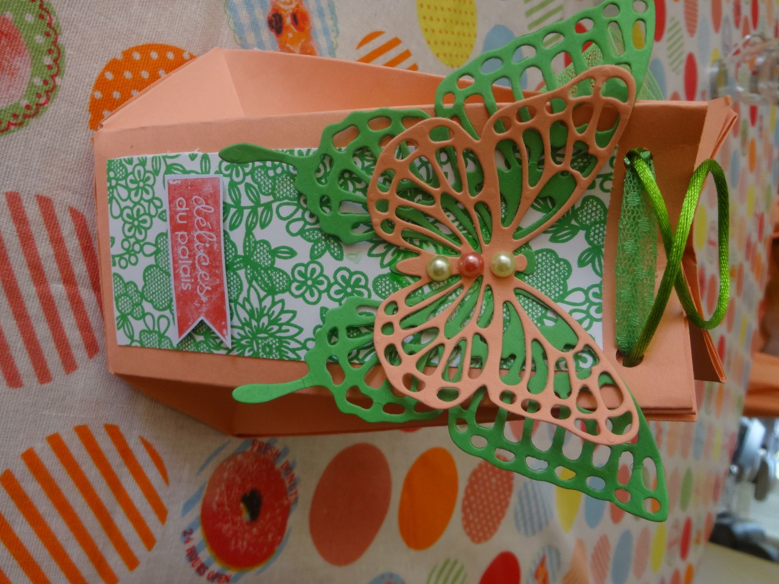 papillons thinlits Stampin Up