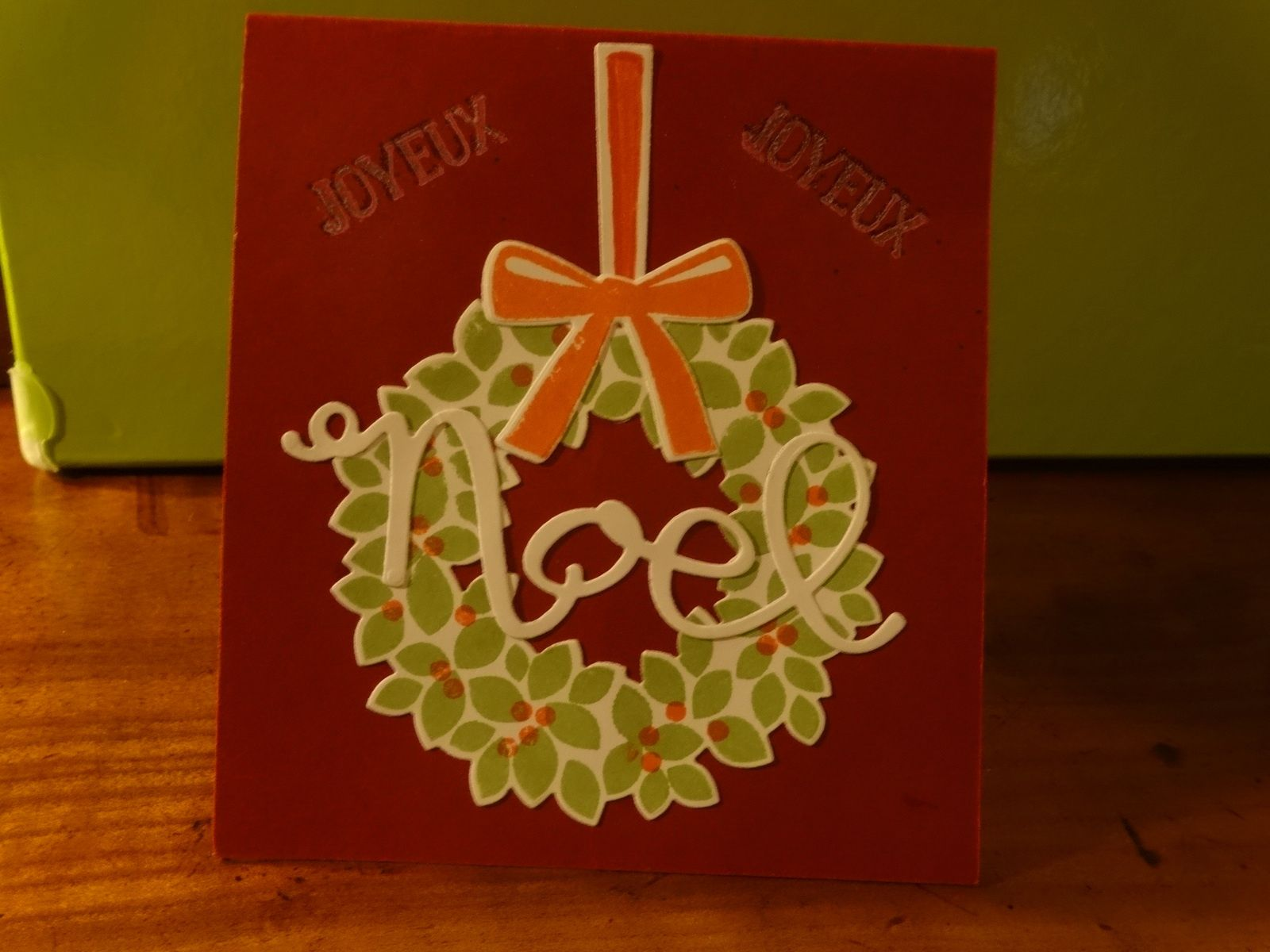 Une petite carte de Noël