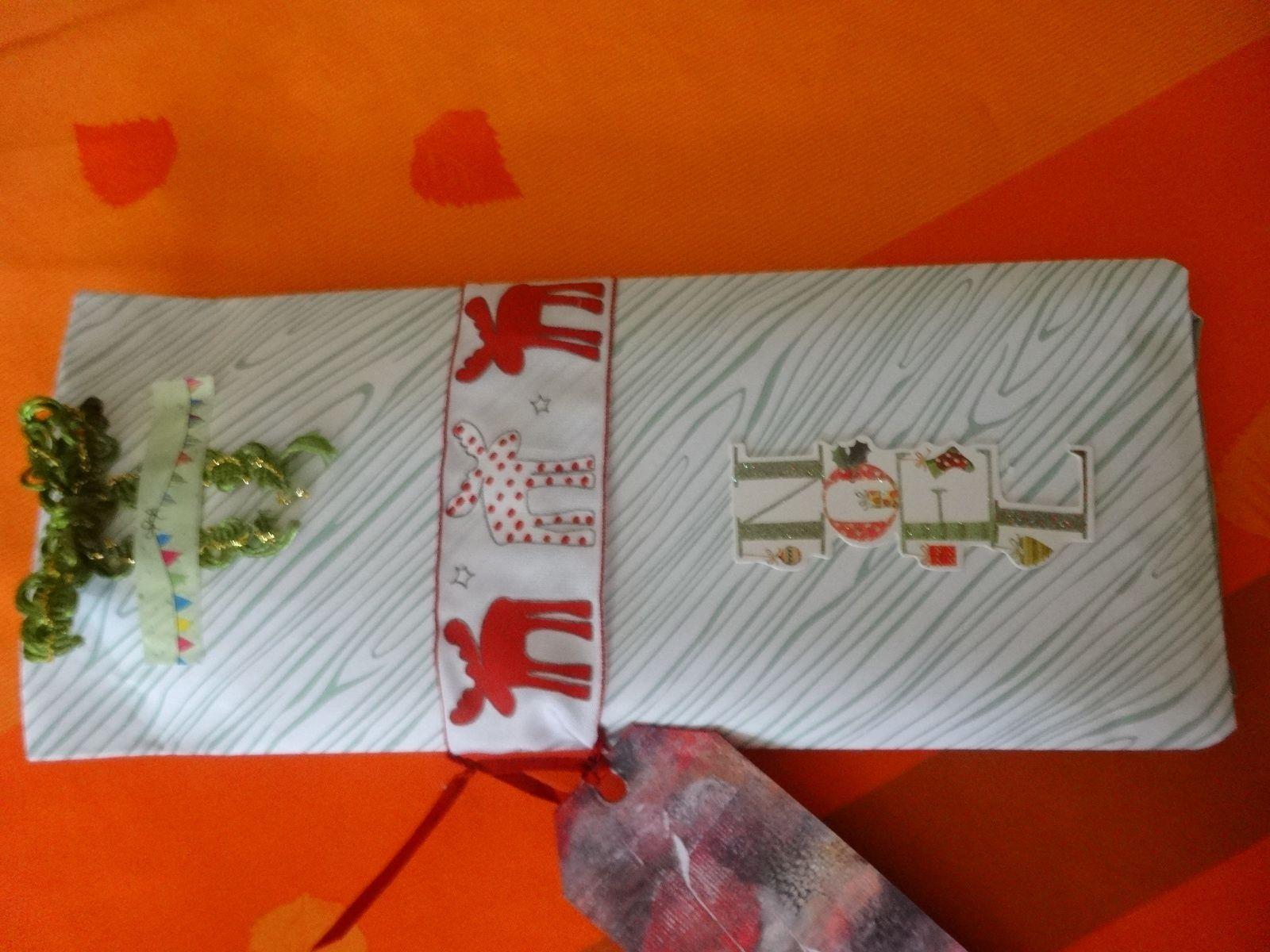 POCKET LETTERS thème Noël