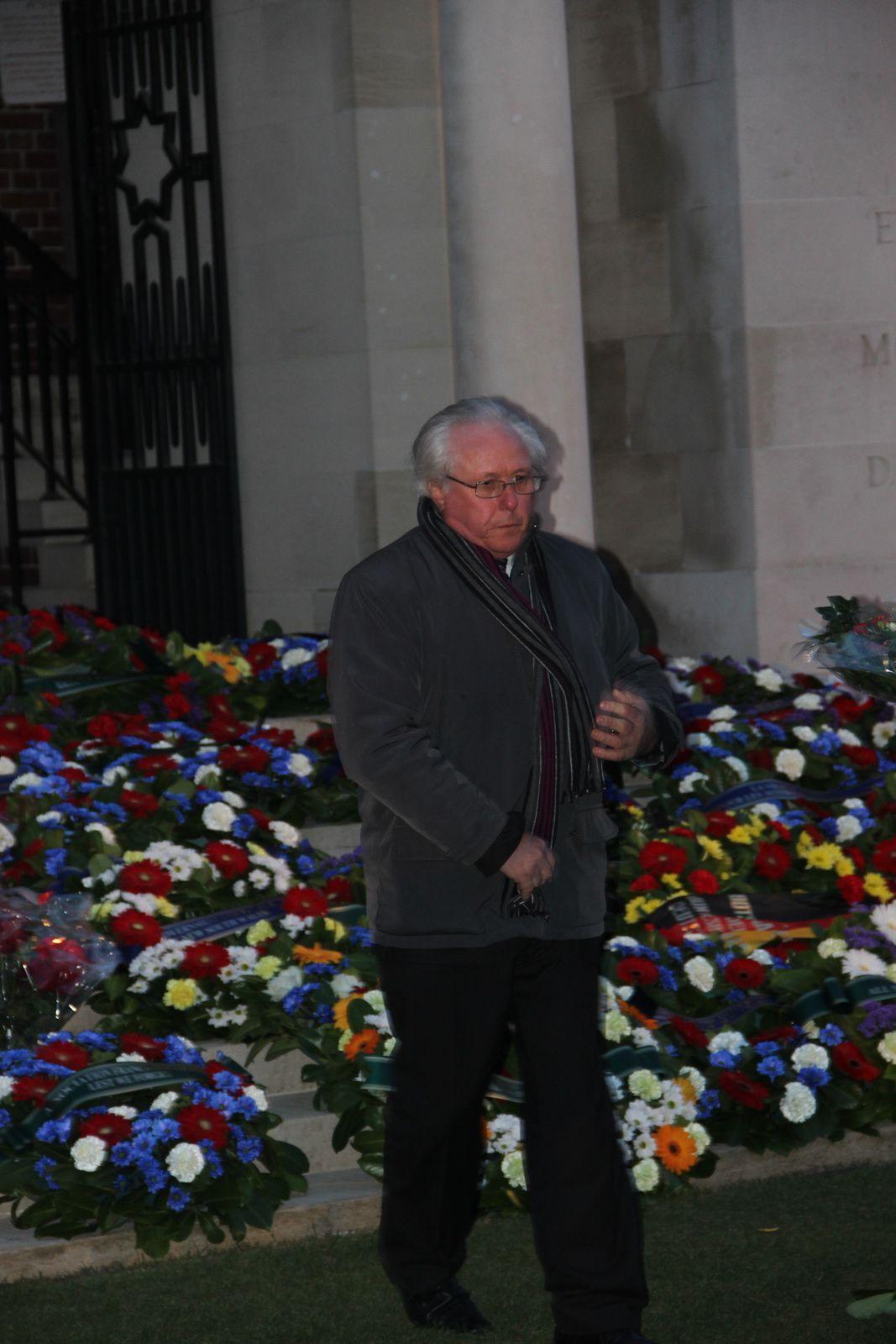 Le souvenir Français à l'Anzac day à Villers-Bretonneux