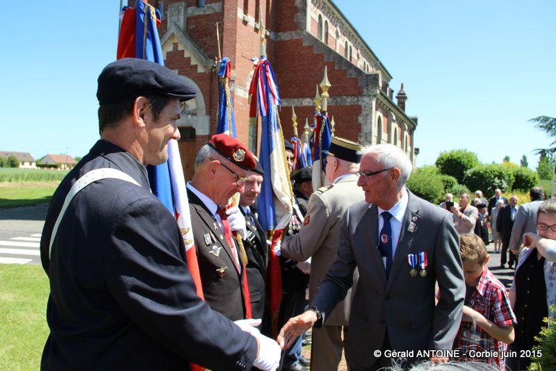 Réunion annuelle des présidents du Souvenir Français à Ablaincourt-Pressoir 80