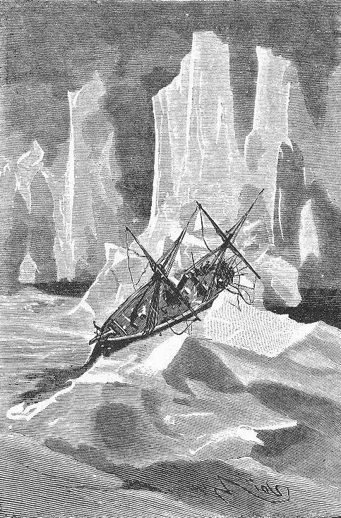 Illustrations/Gravures de l'édition originale (source: https://commons.wikimedia.org/wiki/Category:Illustrations_from_The_English_at_the_Noth_Pole_by_Riou_and_Montaut)