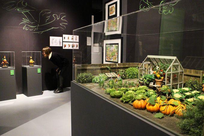 Photos extraites du site de l'exposition (http://artludique.com/aardman.html)