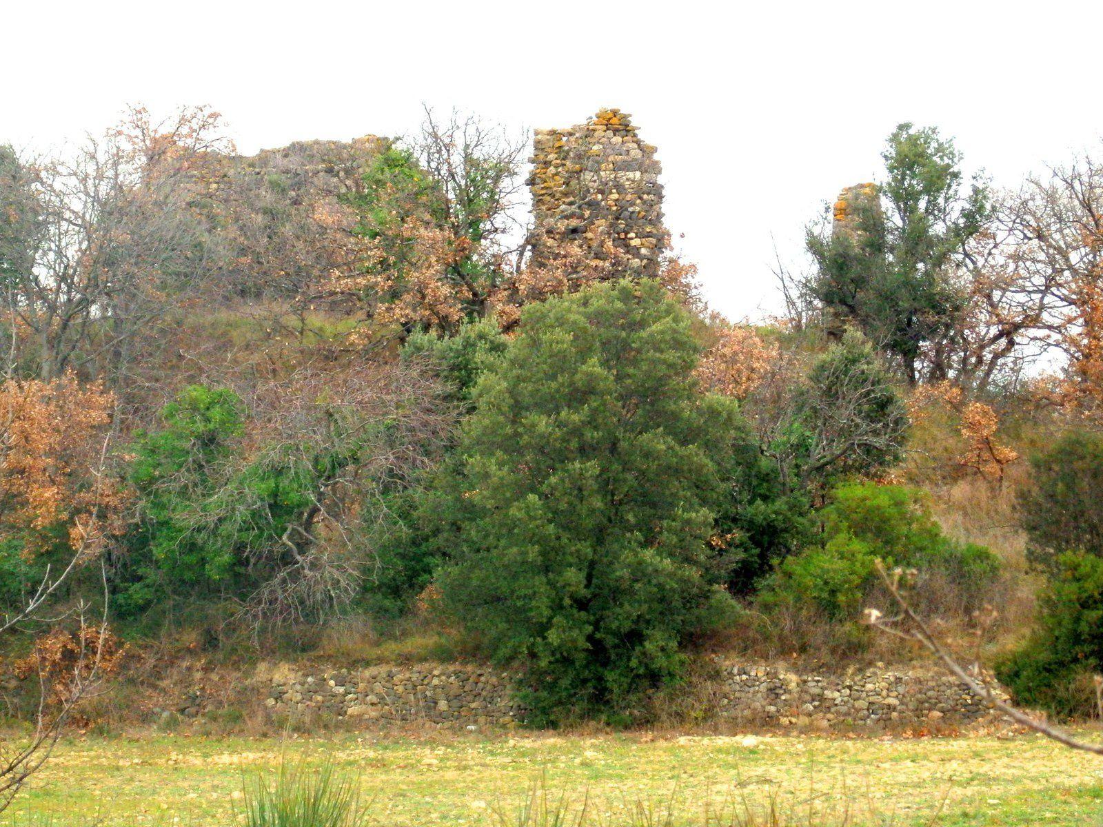 Le château de Maders (Fontès-34)