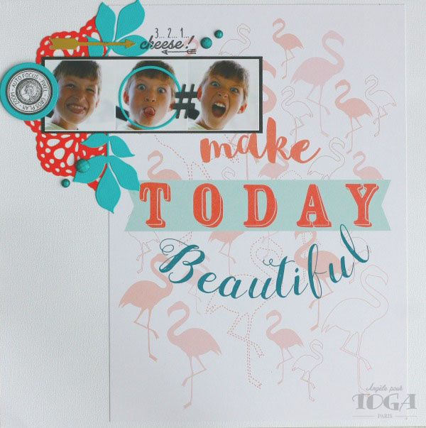 page &quot&#x3B;Make Today Beautiful&quot&#x3B;