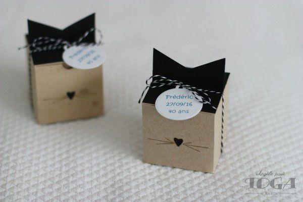 Petites boites DIY &quot&#x3B;Chats&quot&#x3B;