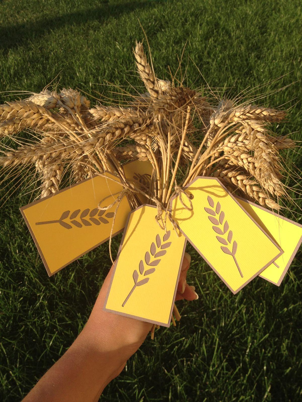 Les bouquets de blé
