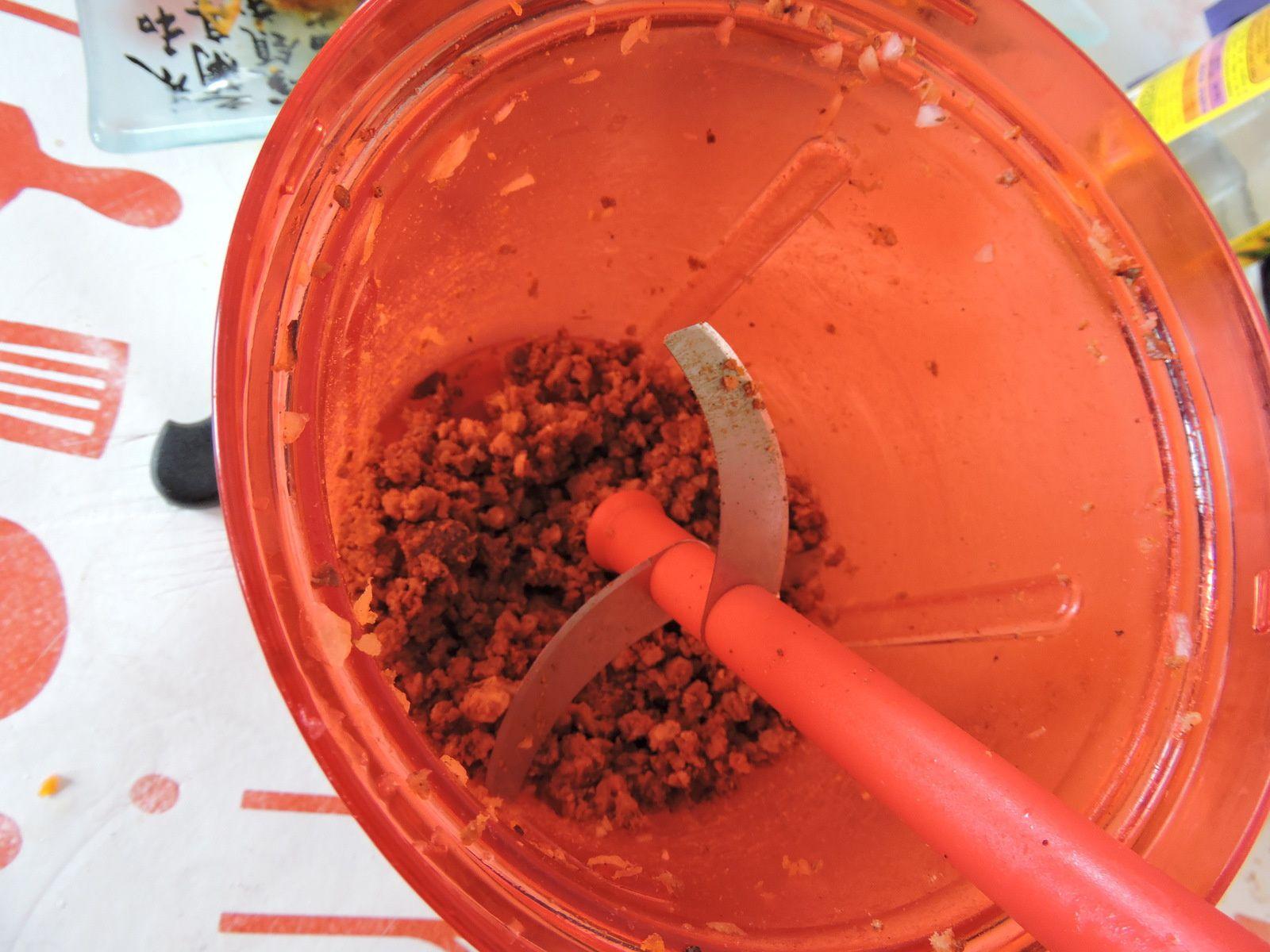 Sauce bolognaise a base de merguez